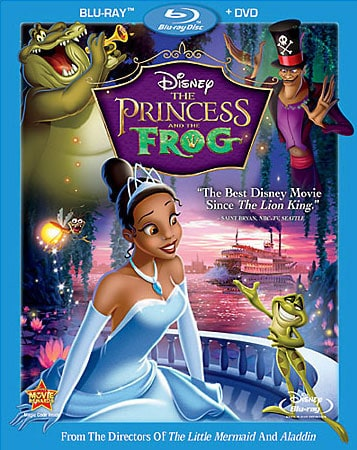 The Princess and the Frog (Blu-ray Disc)