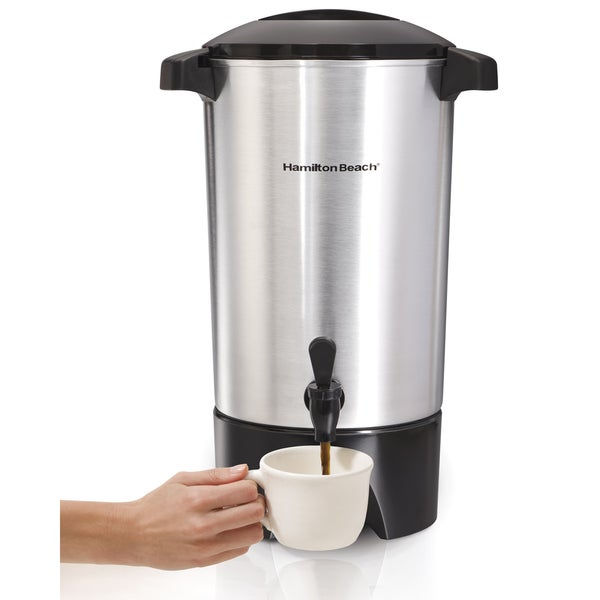 Hamilton Beach 40515 42-Cup Coffee Urn 6268374