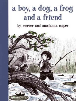 A Boy, a Dog, a Frog and a Friend (Hardcover)