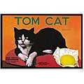 'Tom Cat Brand Lemons' Gallery-Wrapped Canvas (21