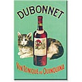 'Dubonnet Vin Tonique au Quinquina' Gallery-wrapped Canvas Art