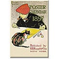 Edward Penfield '1898 Poster Calendar' Canvas Art