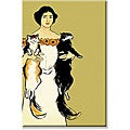 Edward Penfield 'Springtime Felines' Canvas Art