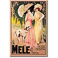 Malerba 'Mele High Italian Fashion' Gallery-wrapped Canvas Art