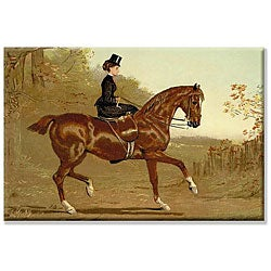 'Book of the Horse' Gallery-wrapped Canvas Art