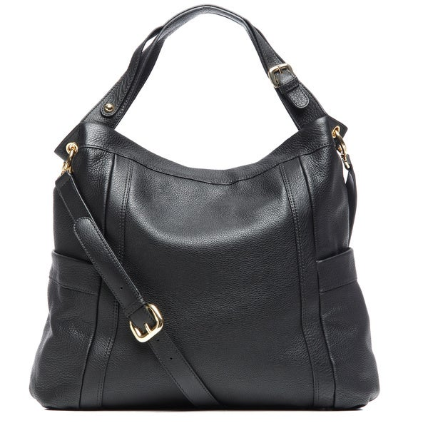 Presa 'Kennington' Large Leather Hobo