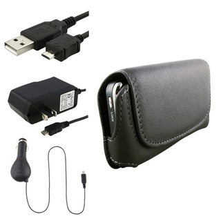 Eforcity Case/ USB Cable/ Car / Travel Chargers for LG GR500