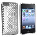 Eforcity Clear Diamond TPU Rubber Skin Case for iPod Touch Gen 2/3