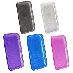 Eforcity Clear TPU Rubber Skin Case for iPod Touch Gen 2/3