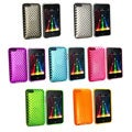 Eforcity Clear Diamond TPU Rubber Case for iPod Touch Gen 2/3