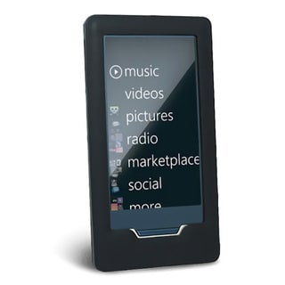 Eforcity Black Silicone Skin Case for Microsoft Zune HD