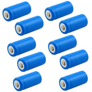 Eforcity 10-pack Lithium Battery- CR123A