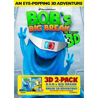 B.O.B.'s Big Break/Shrek 3D (DVD)