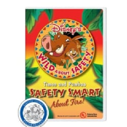 Disney's Wild About Safety With Timon & Pumbaa: Safety Smart About Fire (DVD)