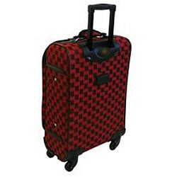 American Flyer Madrid Red 5-piece Spinner Luggage Set