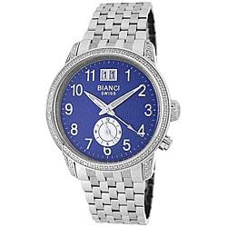 Roberto Bianci Men's Diamond Two-time Zone Watch
