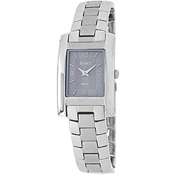 Roberto Bianci Women's Stainless Steel Rectangular Watch