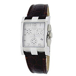 Roberto Bianci Men's Black/Silver Chronograph/Date Watch