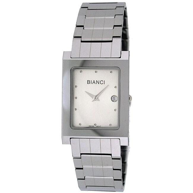 Roberto Bianci Men's White Dial All Tungsten Watch