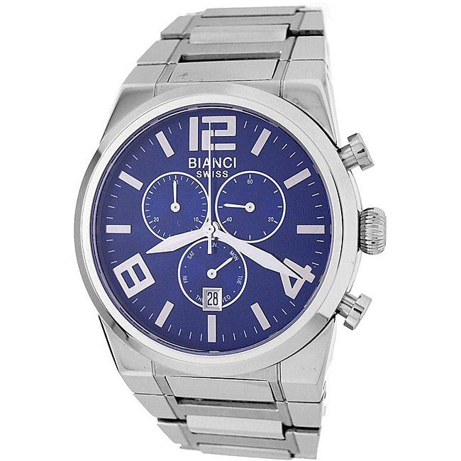 Roberto Bianci Men's Blue Dial Chronograph Watch