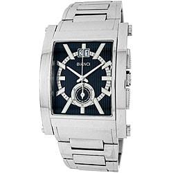Roberto Bianci Men's Prestigio All-Steel Swiss Quartz Chronograph Watch