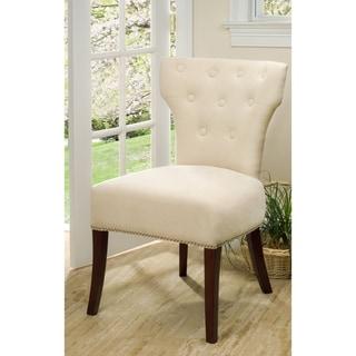 Safavieh Gramercy Cream Side Chairs (Set of 2)