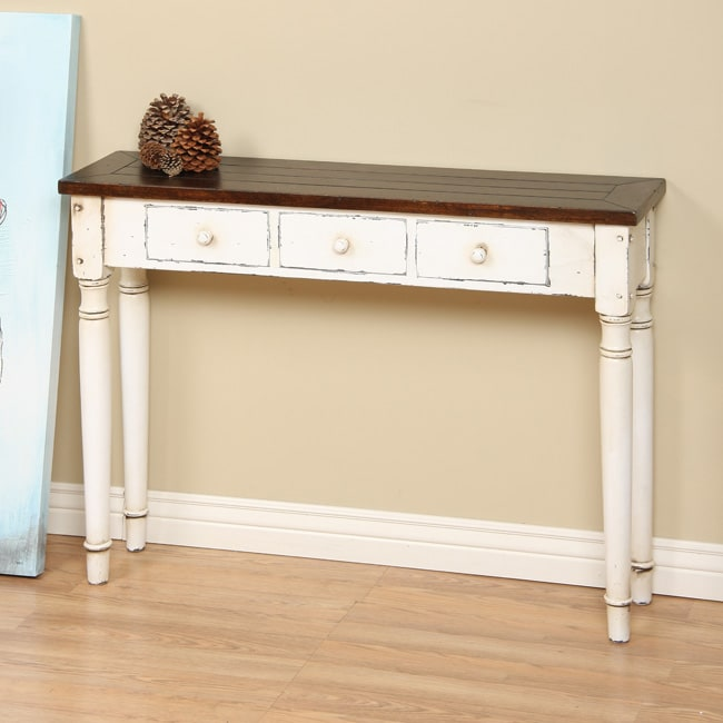 Slatter 3-drawer Console Table (Indonesia)