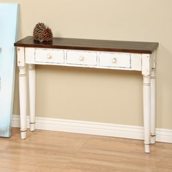 Slatter 3-drawer Console End Table (Indonesia)