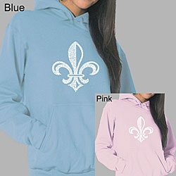 Los Angeles Pop Art Women's Fleur de Lis Hoodie