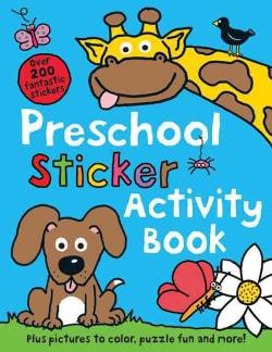 Preschool Sticker Activity Book (Paperback)