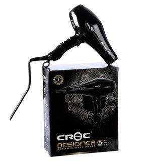 Turboion Croc Designer AC Ceramic Ball Hair Dryer