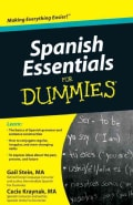 Spanish Essentials for Dummies (Paperback)