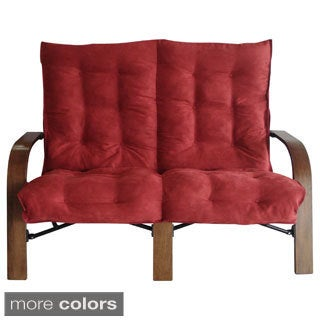 International Caravan Bentwood Folding Loveseat
