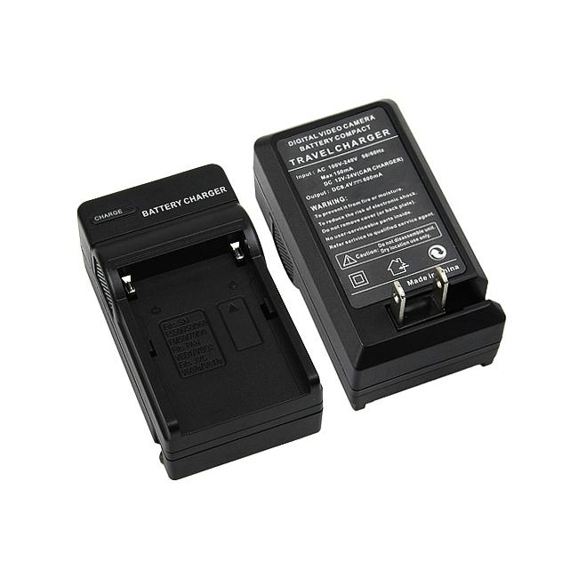 INSTEN Compact Battery Charger Set for Sony NP-FM500H