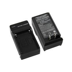 Eforcity Compact Battery Charger Set for Sony NP-FM500H