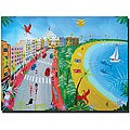Herbet Hofer 'Ocean Drive' Gallery-wrapped Canvas Art