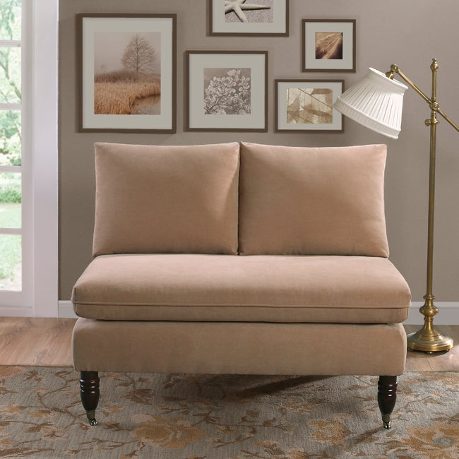 Bordeaux Camel Loveseat