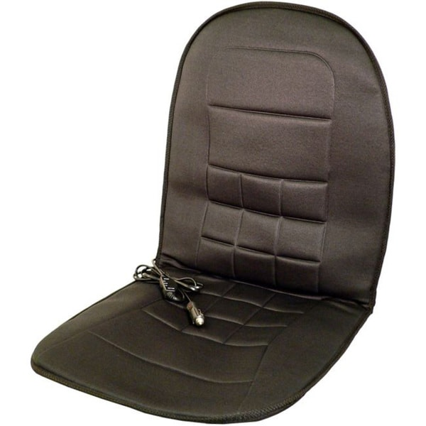 Wagan IN9738 Black 12V Heated Seat Cushion