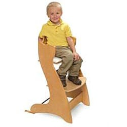 Badger Basket Embassy Wooden High Chair in Natural