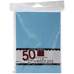 Bazzill Vibrant Blue A7 Envelopes (Pack of 50)