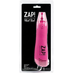 American Crafts Zap! Pink Embossing Heat Gun Craft Tool with Stand