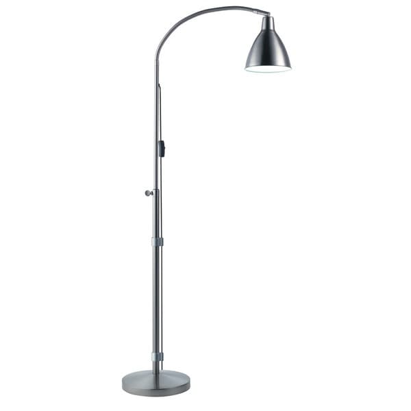 Flexi-Vision Silver Floor Lamp