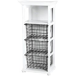 Fashion Furnishings 3-basket Craft Cubby