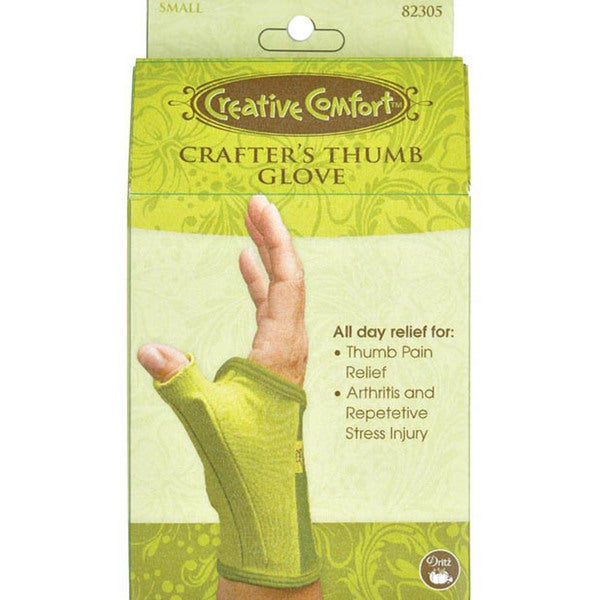 Creative Comfort Crafter's Small Thumb Glove