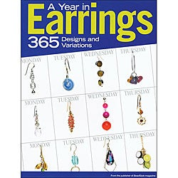 Kalmbach 'A Year in Earrings' Calendar Book