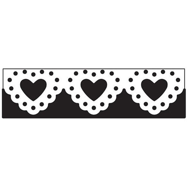 Martha Stewart Lace Heart Edge Punch