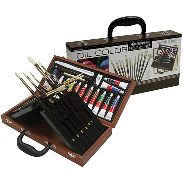 Oil Color Brush Kit