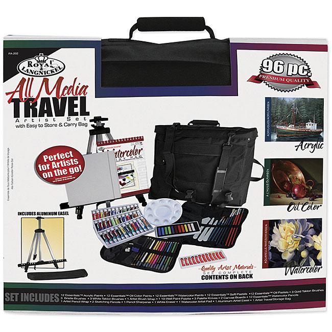 Royal Langnickel 96-piece All Media Travel Artist Kit