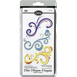 Sizzix Sizzlits 'Decorative Swirls' Die Set (Package of 3)