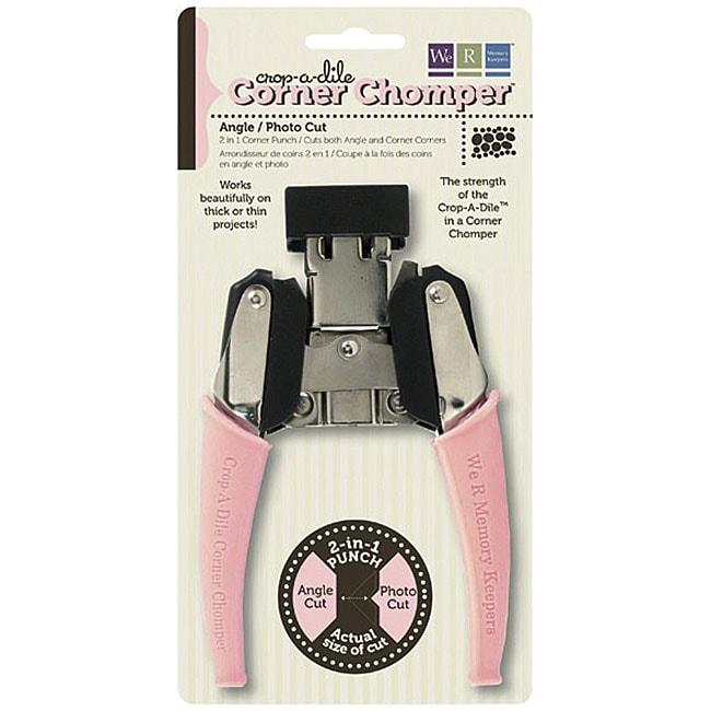 Crop-A-Dile Angle/ Photo Cut Corner Chomper Tool